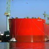 Největší loď světa vyplula na moře, vyrobil ji Samsung