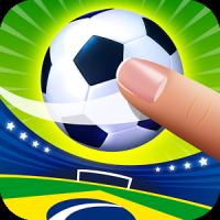 Dejte si pár gólů ve fotbalové hře Flick Soccer Brazil