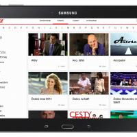 Aplikace Prima pro tablety Samsung nabízí nově HD videa a oživený design
