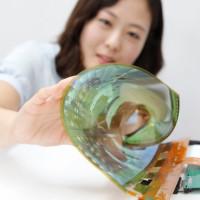 LG Display představuje 18″ rolovací OLED displej. Do roku 2017 ukáže flexibilní Ultra HD TV