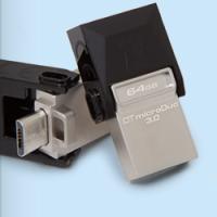 Kingston představil USB flash disk DataTraveler microDuo 3.0 pro mobilní telefony a tablety