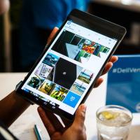 Uhni, Apple. Nový nejtenčí tablet na světě je Dell Venue 8 7000