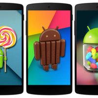 Android KitKat zvyšuje svůj podíl na 40 %, Lollipop se do tabulek nedostal