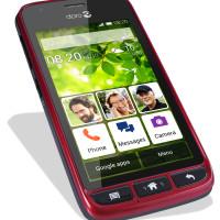 Babičkovský smartphone Doro Liberto 820 Mini je nově dostupný i v bílé a červené