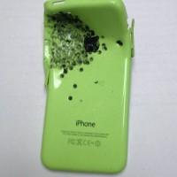 iPhone 5C zachránil mladíkovi z Anglie život. Zastavil střelu z brokovnice