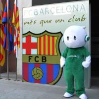 Oppo se stalo oficiálním partnerem fotbalového týmu FC Barcelona