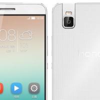 Honor 7i je unikátní smartphone s otočným foťákem