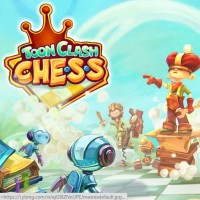 Toon Clash Chess je komiksová verze Battle Chess, zdarma si ji stáhnete pro Android
