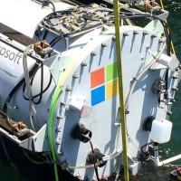 Microsoft chce ponořit servery a datová úložiště na mořské dno