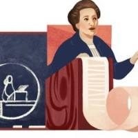 Google dnešním Doodlem připomíná narození české feministky Plamínkové