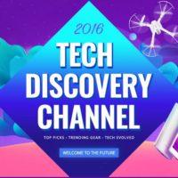 Tech discovery channel – dostupné VR brýle, smartphony, drony a gadgety