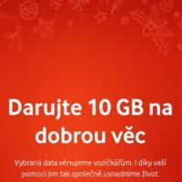 Vodafone rozdá o Vánocích 10 GB dat zdarma. Můžete si je nechat pro sebe, nebo předat dál