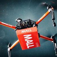 Mall.cz chce rozvážet balíčky vlastními létajícími drony