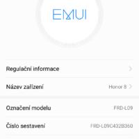 Honor 8 dostává aktualizaci na Android 7.0 Nougat