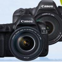 Canon spouští cashback na vybrané zrcadlovky a objektivy