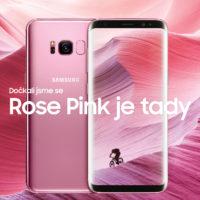 Samsung představuje růžovou variantu Galaxy S8