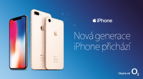 O2 zahájí předobjednávky iPhone 8 a 8 Plus a Apple Watch 3