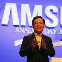 Šéf Samsungu nečakaně oznámil rezignaci, chce dát šanci mladším