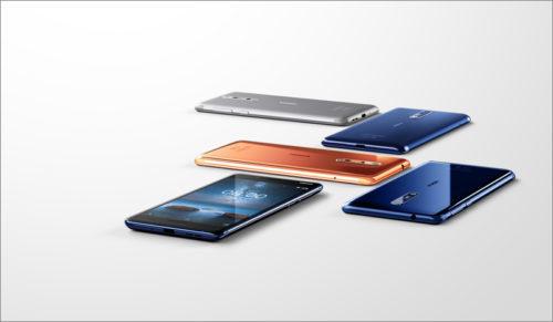 V ČR se začala prodávat špičková Nokia 8