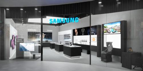 Samsung otevírá novou prodejnu v OC Chodov