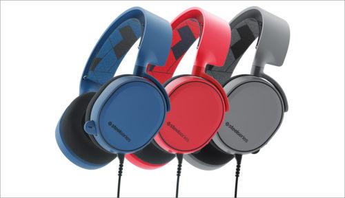 SteelSeries přichází s novými barvami headsetů Arctis