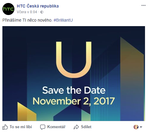 HTC U11 Plus zná datum premiéry