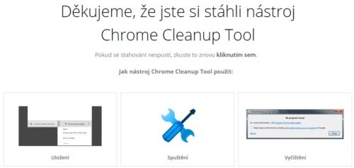 Stáhněte si Chrome Cleanup pro bezpečnější surfování na webu