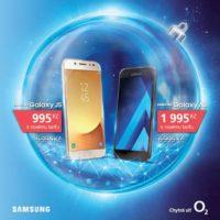 O2 v rámci Black Friday nabídne dva telefony Samsung až o 5 000 Kč levněji