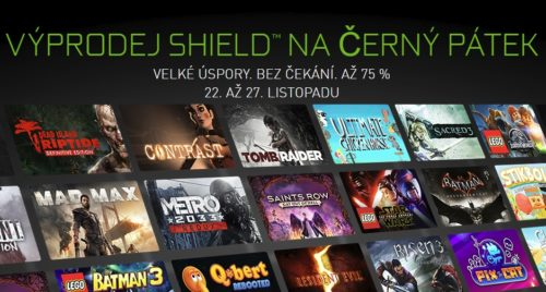 Hry pro Nvidia Shield jsou nyní za pakatel