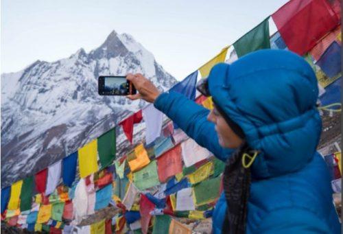 StrongPhone G4 testován v Himálaji