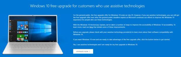 Nabídka Windows 10 zdarma skončí už za několik dní