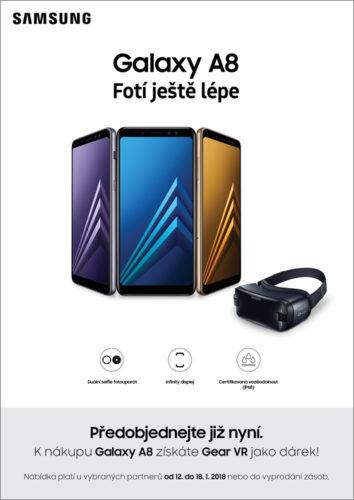 Samsung zahájil předobjednávky na nový Galaxy A8