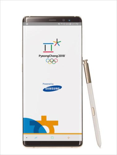 Stahujte: Samsung vydal oficiální aplikaci PyeongChang 2018