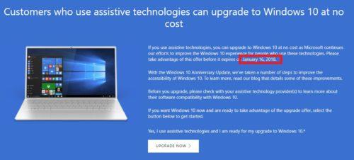 Naposledy dnes můžete stahovat Windows 10 zdarma
