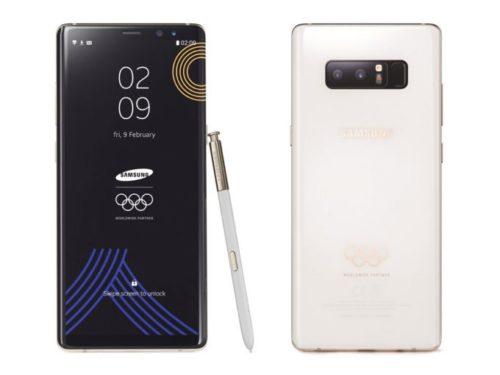 Takto vypadá Olympijská edice Samsungu Galaxy Note8