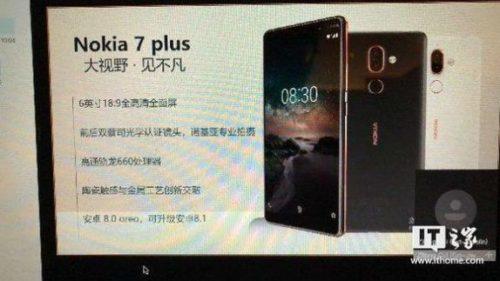 Nokia 7 Plus nabídne duální fotoaparát s optikou Zeiss