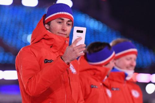 Samsung předal olympionikům speciální Galaxy Note8