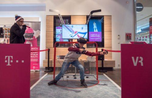 T-Mobile nabídl na prodejnách zimní tour ve virtuální realitě