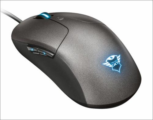 Herní myš Trust GXT 180 Kusan má bohatou výbavu