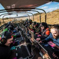ROG Extreme Gaming: Extrémní hraní na tankodromu v Milovicích probíhalo v zajetí mrazu