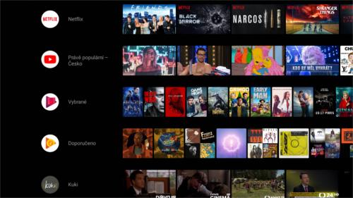 Nvidia vydala Android 8.0 Oreo pro Shield TV