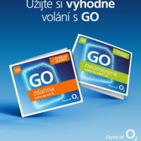 O2 oživuje koncept GO a představuje předplacené karty v novém kabátě