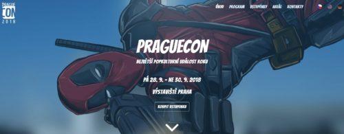 Praha přivítá hrdiny populárních seriálů i herních světů na akci PragueCon