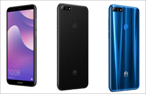 Huawei uvedl na český trh Y7 Prime 2018