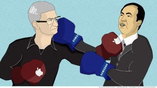 Apple a Samsung urovnaly dlouholetý patentový spor