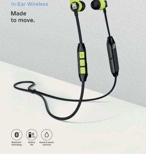 Sennheiser spustil prodej sportovních sluchátek CX Sport