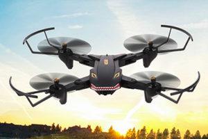 Dračí dron VISUO XS809S – létající hračka za pár kaček