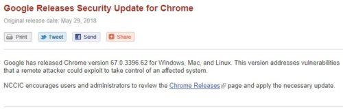 Prohlížeč Chrome obsahoval kritickou chybu