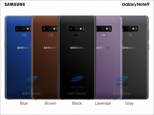 Samsung Galaxy Note 9 o sobě dává znovu vědět
