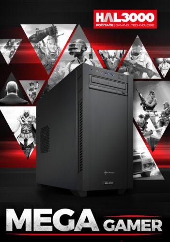 Do prodeje zamířila herní sestava HAL3000 MEGA Gamer